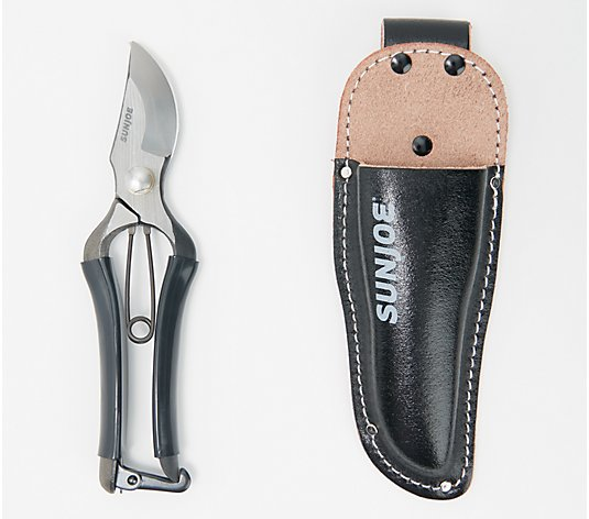 Nisaku Forged Steel Secateurs with Holster