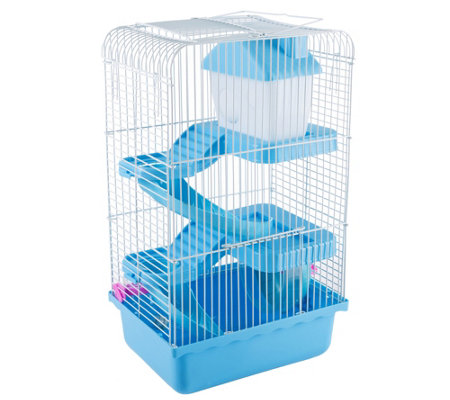 PETMAKER 3 Story Hamster Cage with Starter Kit