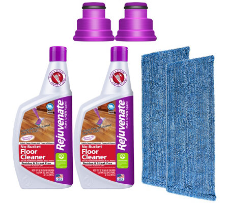 Rejuvenate 32-oz No-Bucket Floor Cleaner Set