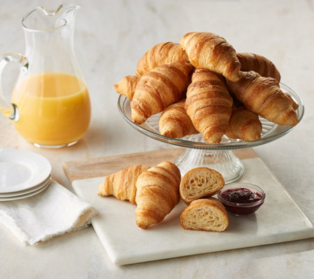 Sh11 4authentic Gourmet 36 2 Oz Large French Butter Croissants