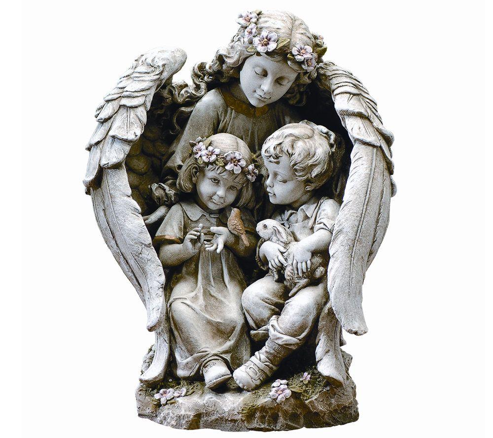 Guardian Angel Garden Decor Figure By Roman   Page 1 U2014 QVC.com