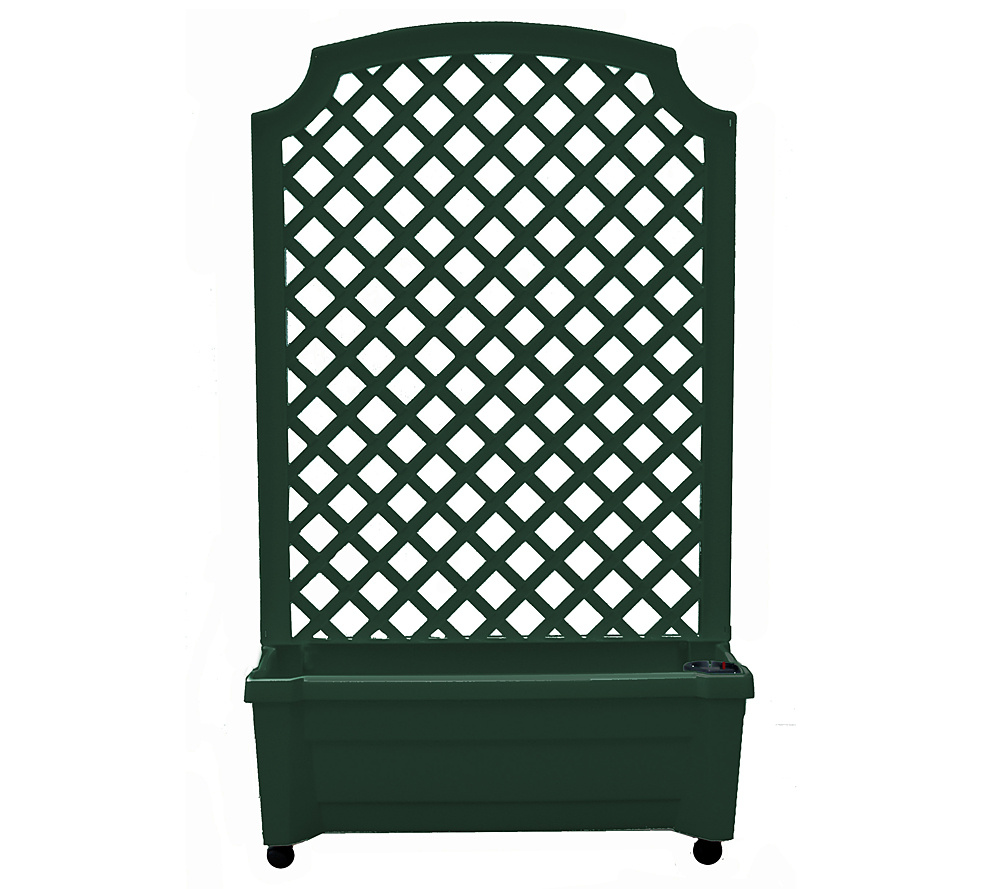 Calypso Planter Trellis With Self Watering System Page 1 Qvc Com