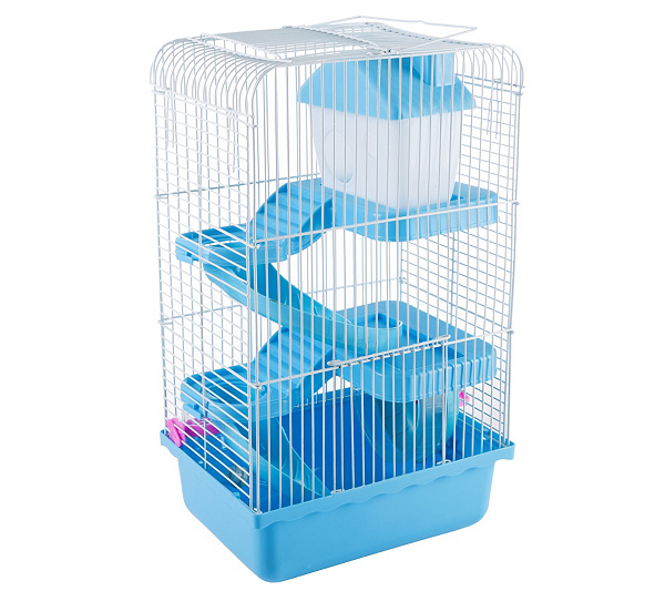 sells genuine shoes separation shoes PETMAKER 3 Story Hamster Cage with Starter Kit — QVC.com