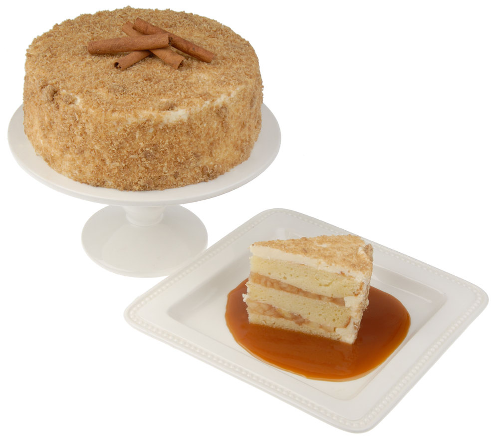 Balboa Desserts 8 Classic Apple Pie Layer Cake Serves 14 16 Qvc Com