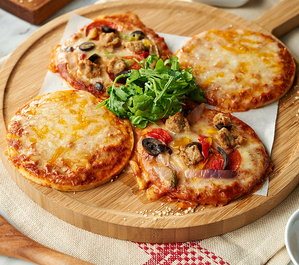 Real Good Foods 12 5 Parmesan Chicken Crust Pizza Qvc