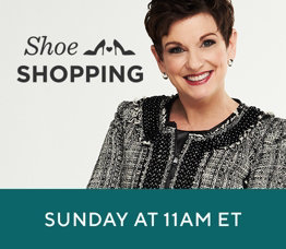 Shoe Shopping with Pat   Sunday at 11am ET.