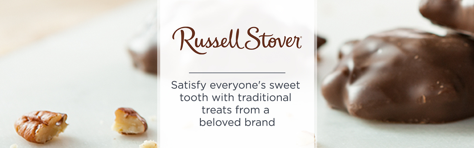 Russell Stover — Satisfy everyone's sweet tooth with traditional treats from a beloved brand