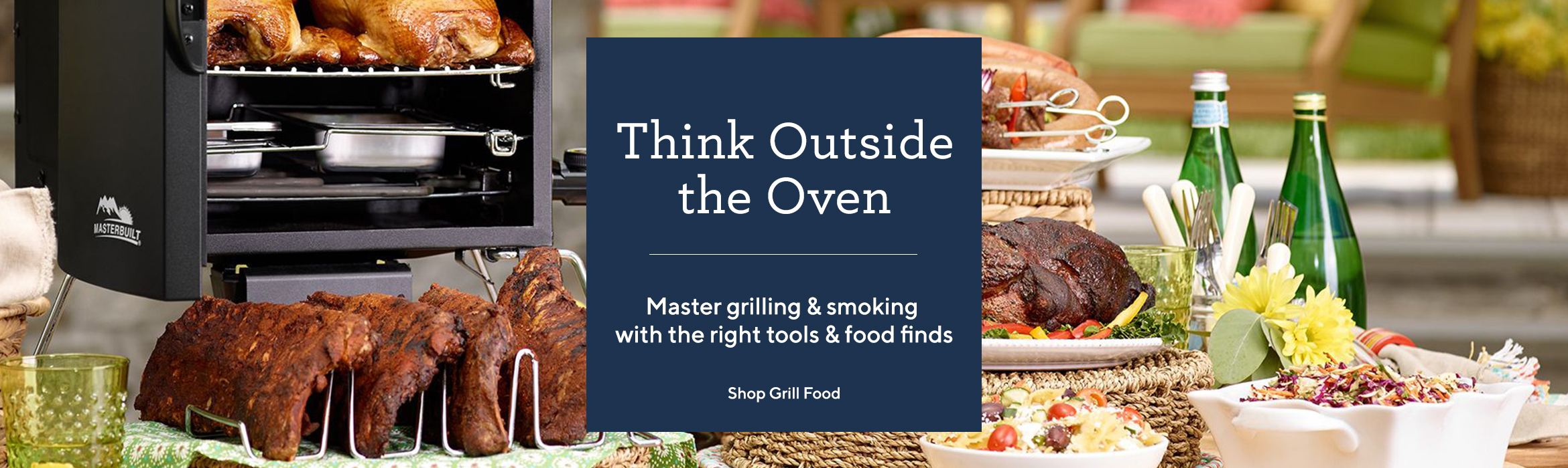 Think Outside the Oven  Master grilling & smoking with the right tools & food finds
