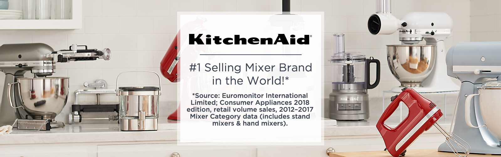 Kitchenaid 1 Ing Mixer Brand In The World