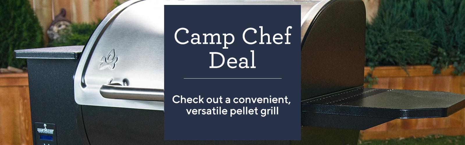 Camp Chef Deal Check out a convenient, versatile pellet grill