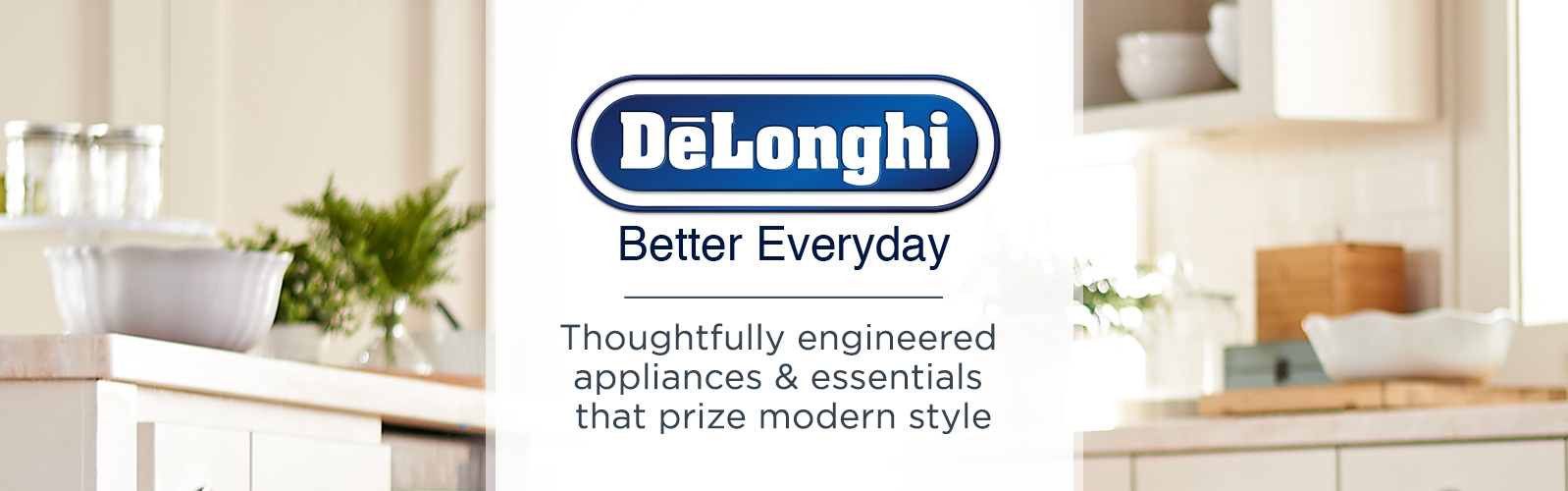 DeLonghi. Thoughtfully engineered appliances & essentials that prize modern style
