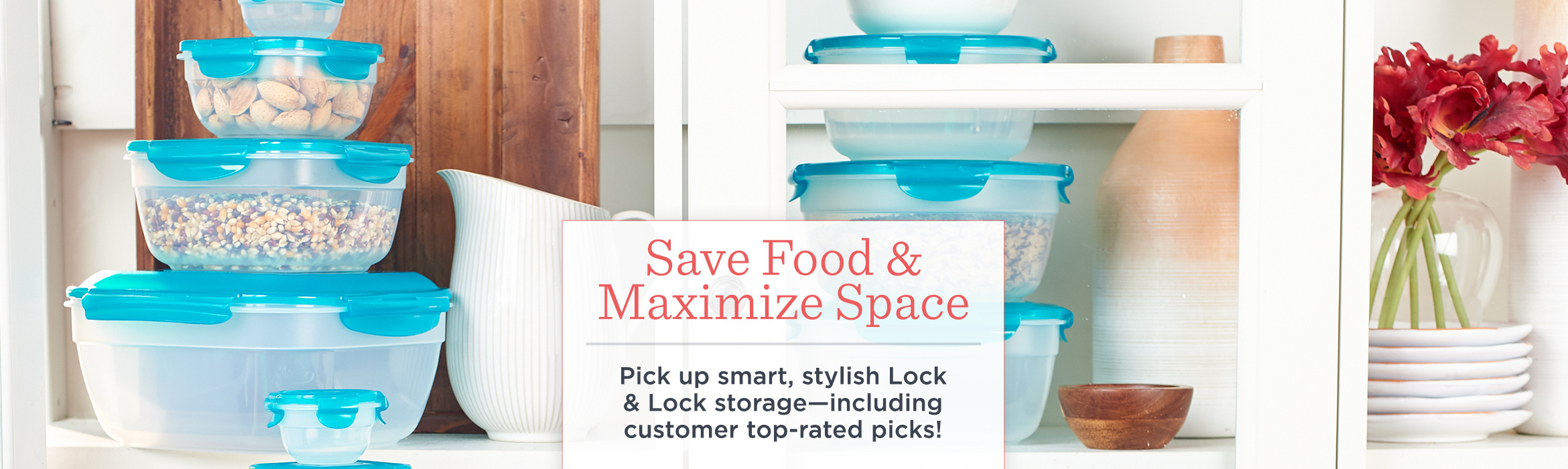 Lock & Lock — Kitchen & Food — QVC.com