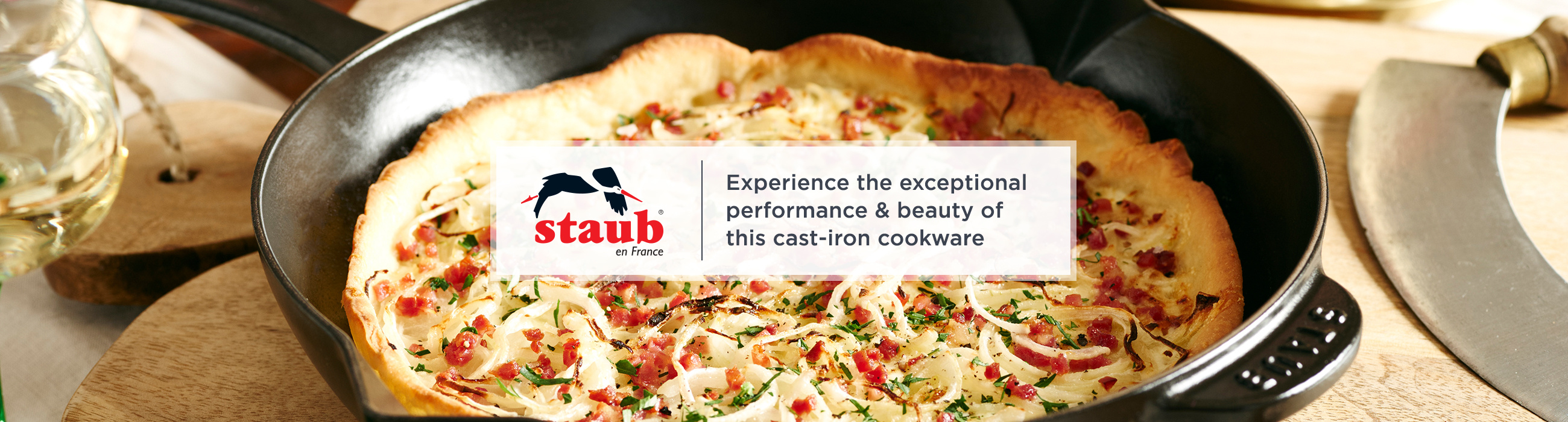 Staub  Experience the exceptional performance & beauty of this cast-iron cookware