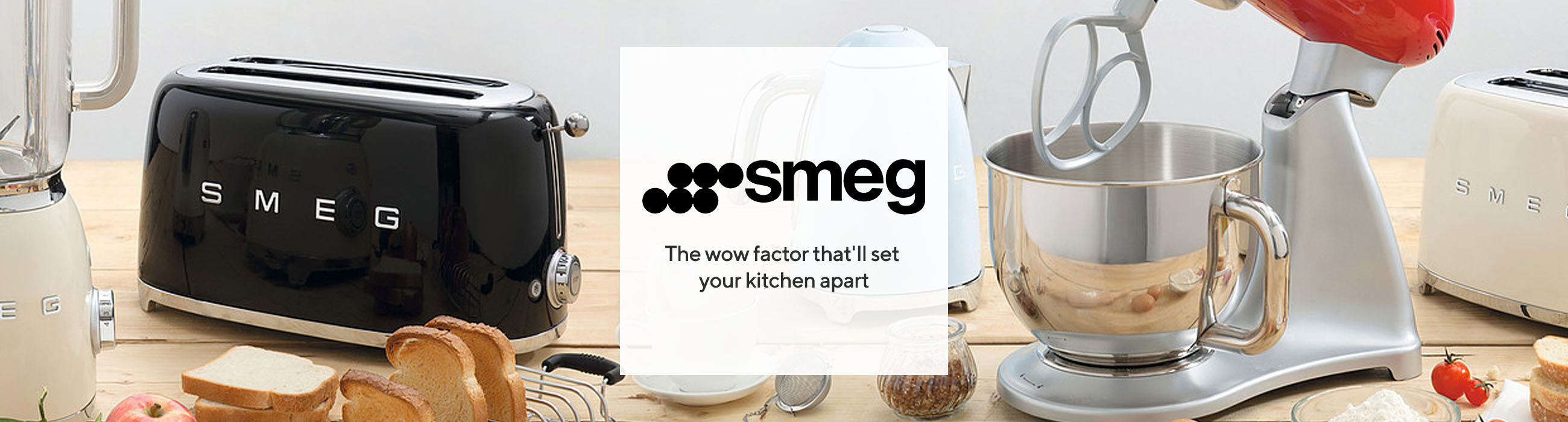 Smeg  The wow factor that'll set your kitchen apart
