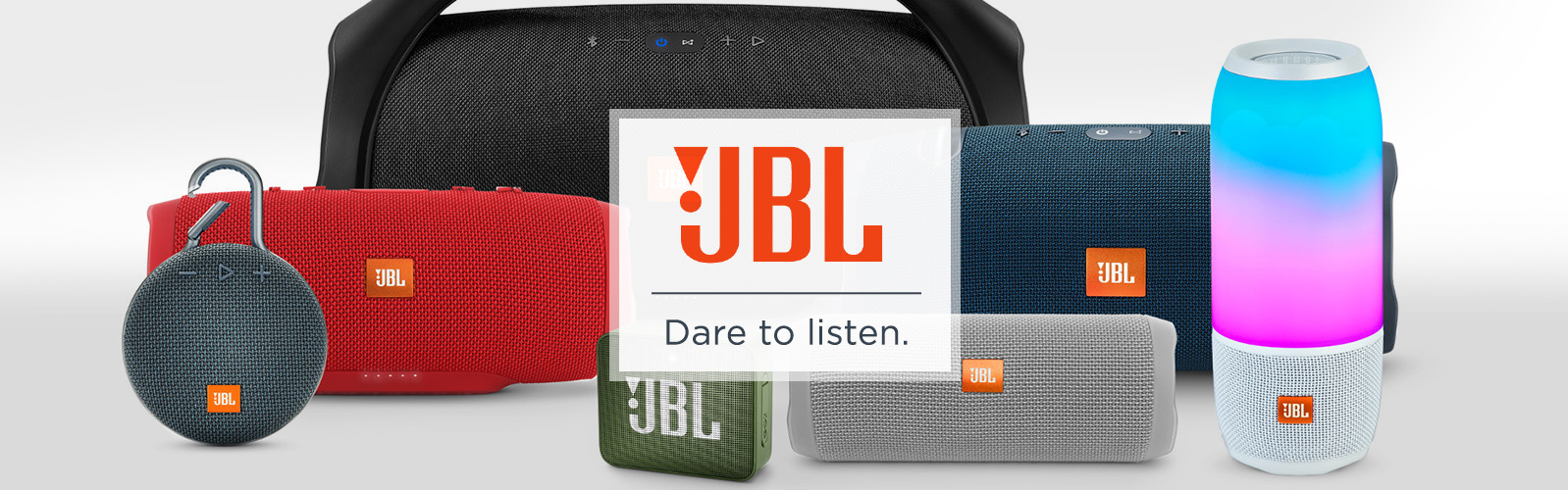 JBL — Dare to listen.