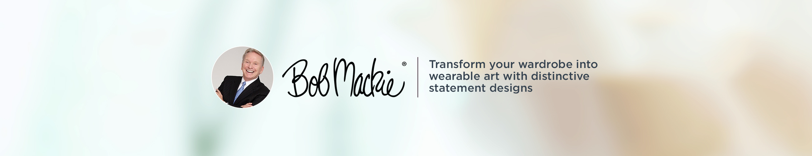 Bob Mackie Transform your wardrobe into wearable art with distinctive statement designs