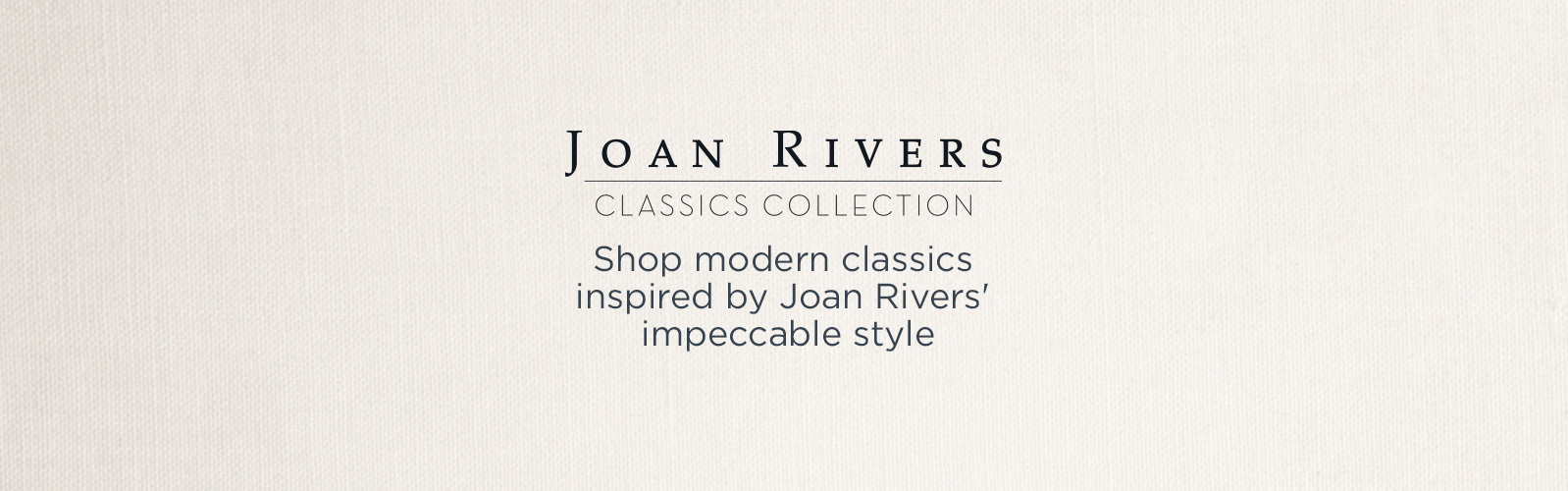 Shop modern classics inspired by Joan Rivers' impeccable style