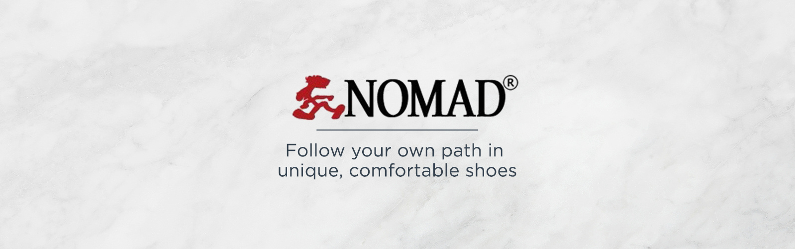 Nomad  — Follow your own path in unique, comfortable shoes