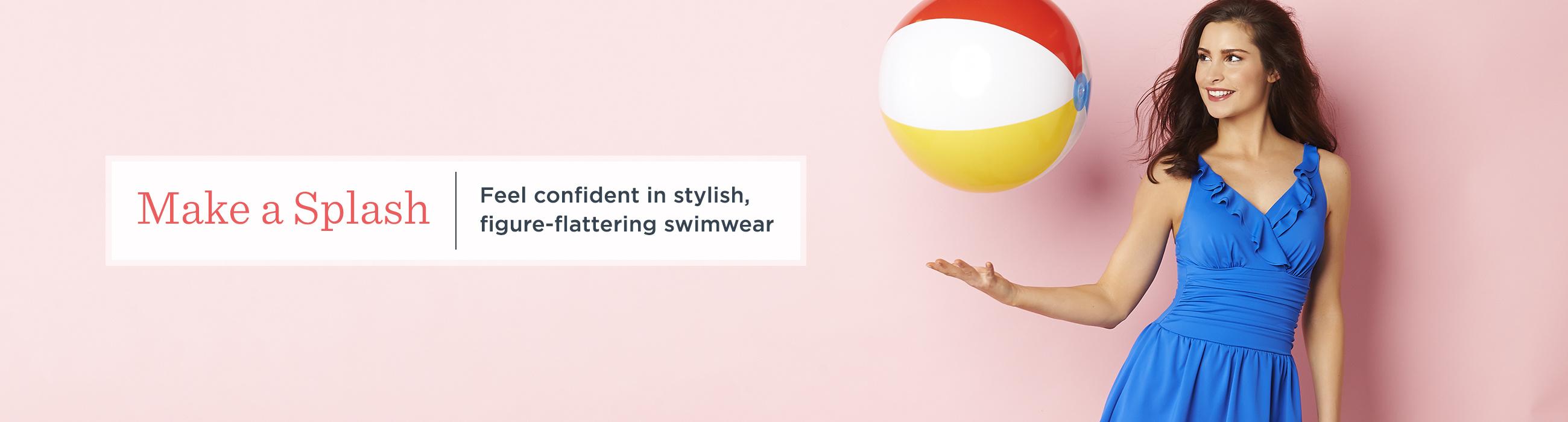 841939cfd01e4 Womens Swimwear — Fashion — QVC.com