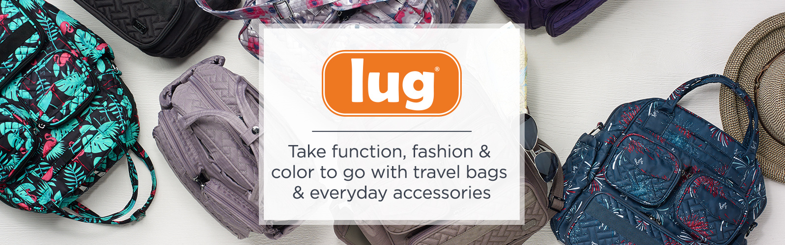 Lug Travel Bags for Women — Handbags   Luggage — QVC.com e713b2d5e6a6f