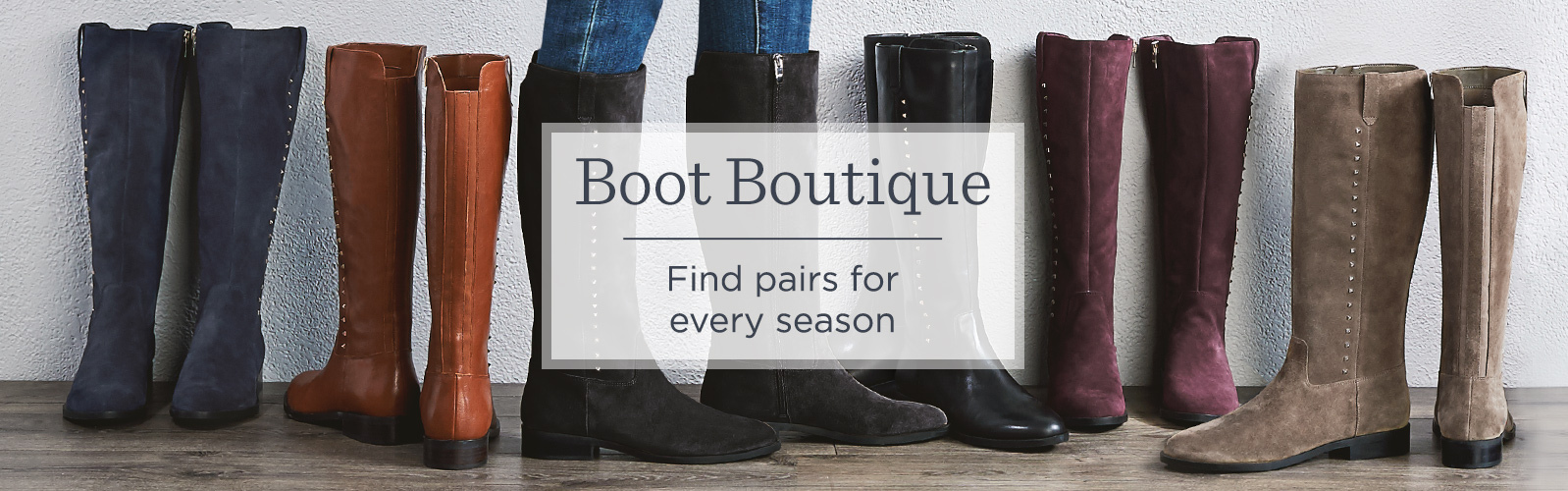 Boot Boutique Find Pairs For Every Season Style