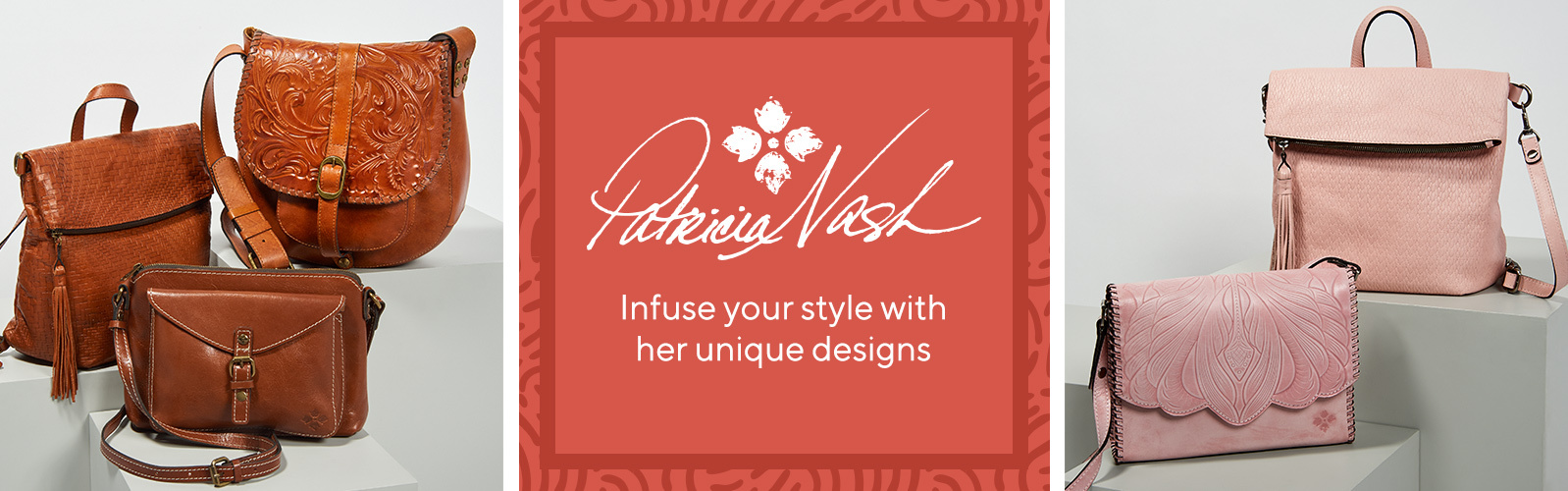 Patricia Nash Infuse your style with her unique designs