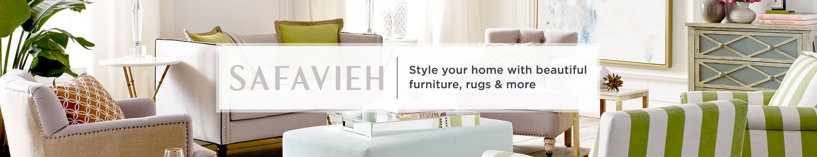 Safavieh. Style your home with beautiful furniture, rugs & more