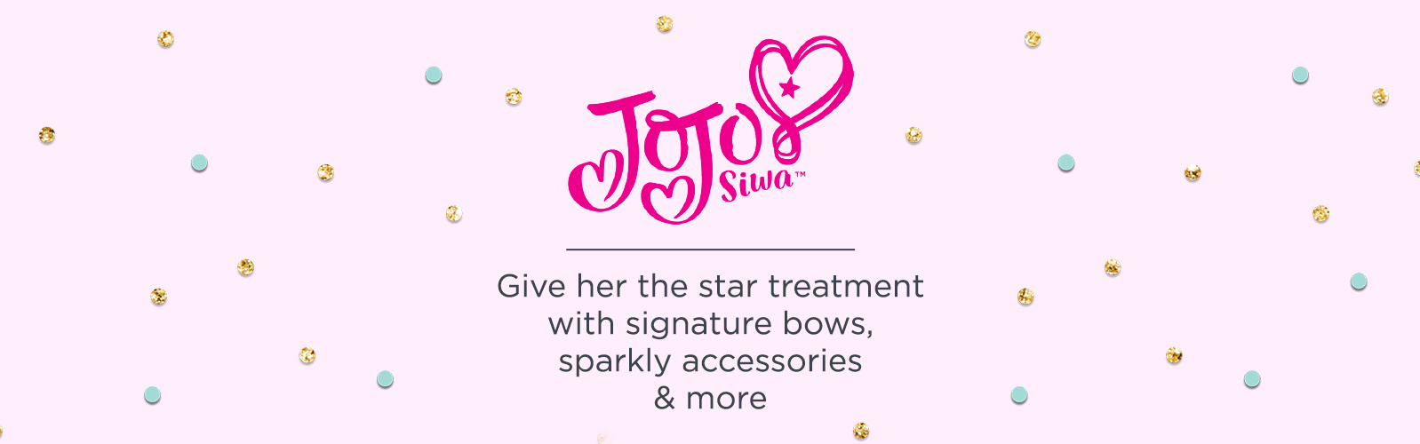 JoJo Siwa.  Give her the star treatment with signature bows, sparkly accessories & more