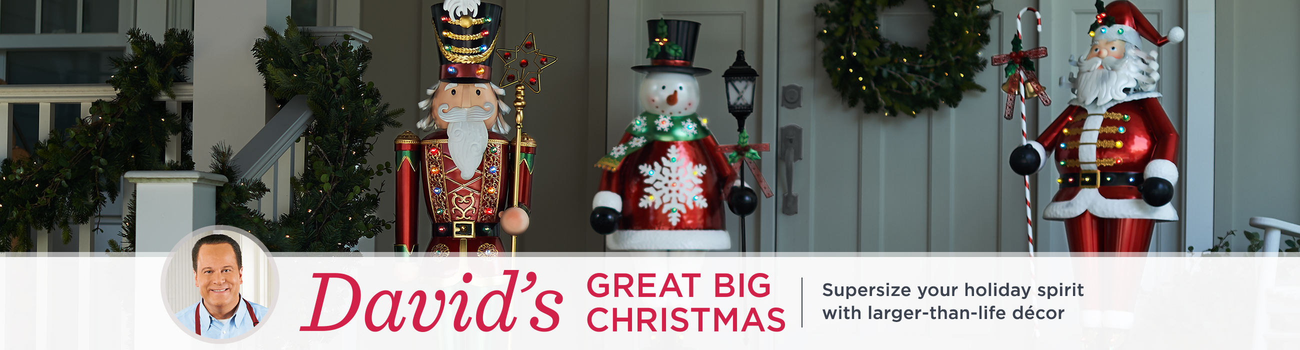 davids great big christmas supersize your holiday spirit with larger than life dcor