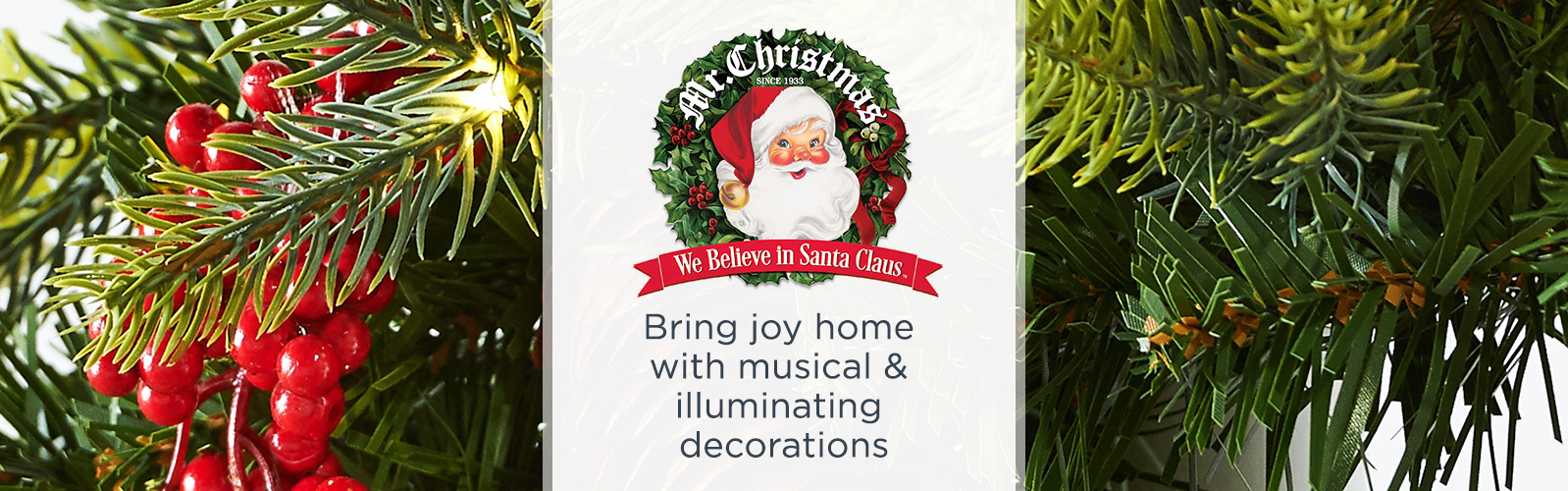 mr christmas bring joy home with musical illuminating decorations - Mr Christmas Outdoor Decorations