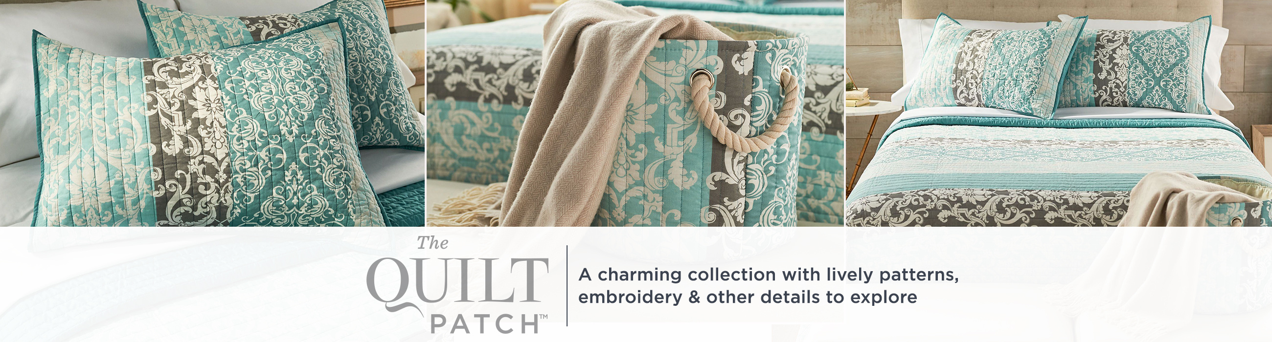 The Quilt Patch — A charming collection with lively patterns, embroidery & other details to explore