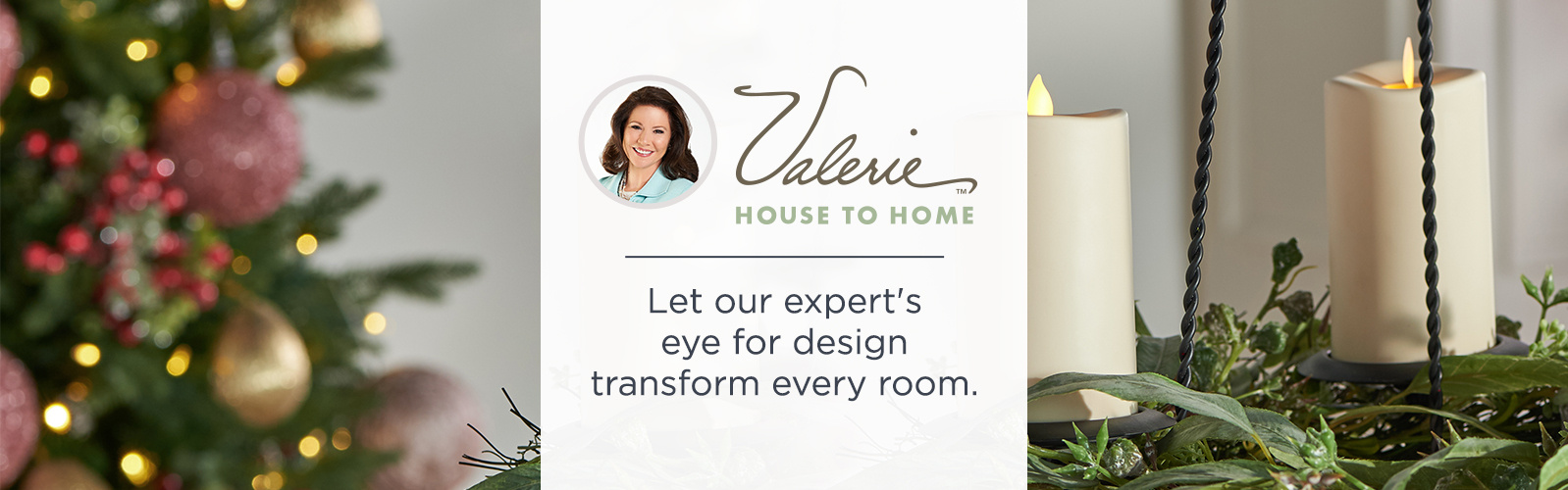 Valerie House to Home - Be inspired! Set the stage for a very merry holiday.