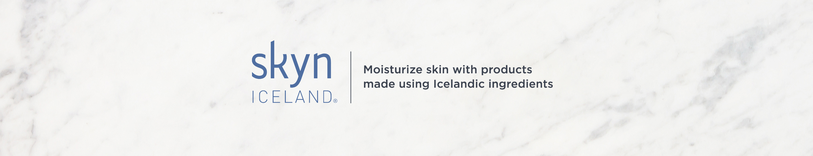 skyn ICELAND. Moisturize skin with products made using Icelandic ingredients