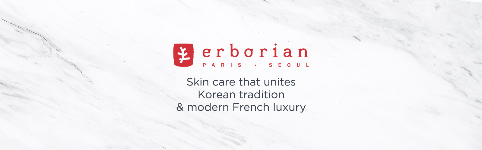 Erborian. Skin care that unites Korean tradition & modern French luxury