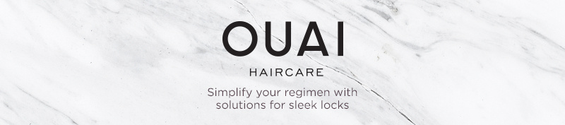 OUAI Simplify your regimen with solutions for sleek locks