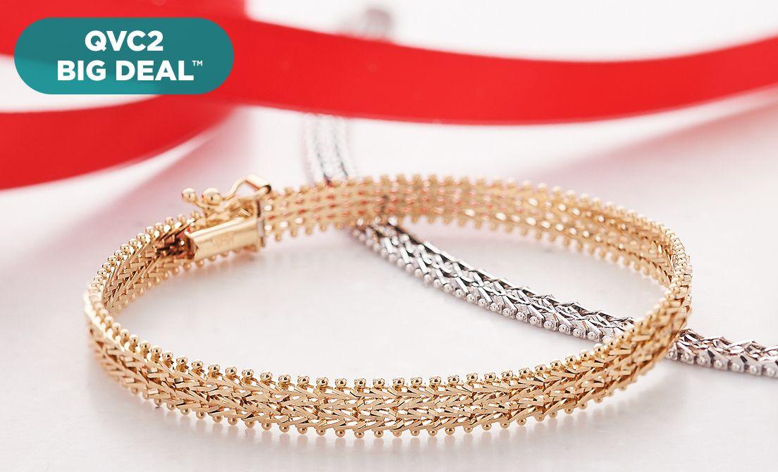 Www Qvc Com 14k Gold Bracelets Alert