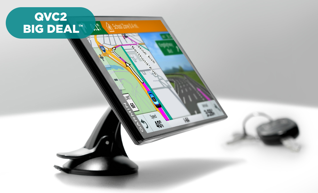 QVC) Q2 - Garmin DriveSmart 61 LMT-S GPS with Lifetime Map