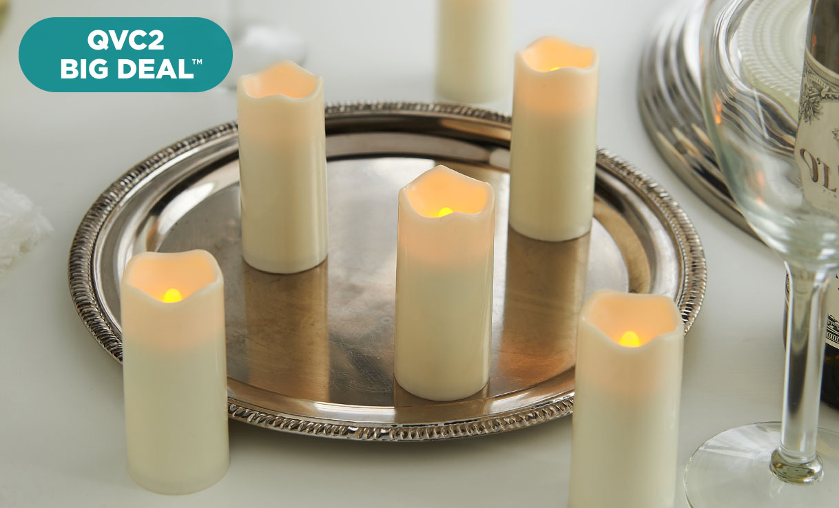 QVC2 Big Deal™ — Flameless Votive Candles