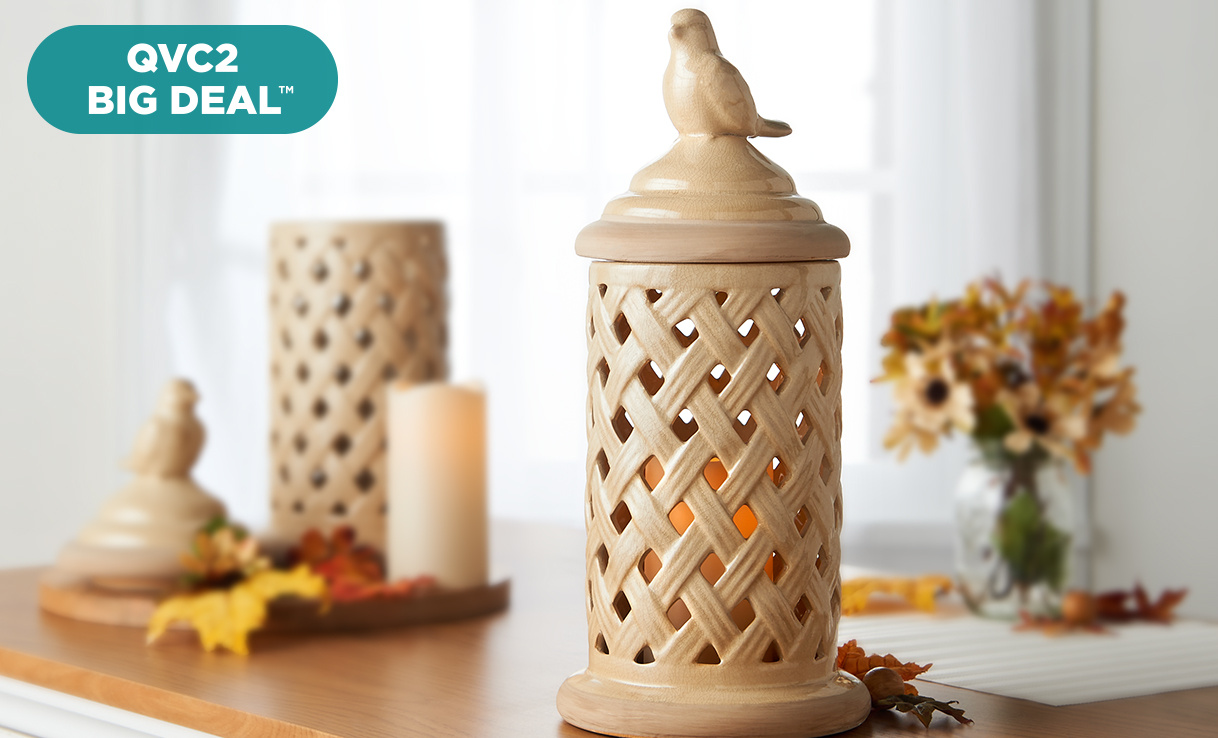 QVC2 Big Deal™ — Ceramic Bird Hurricane