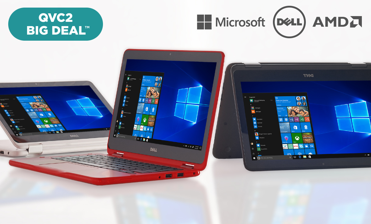 QVC2 Big Deal™ — Dell™ 2-in-1 Laptop