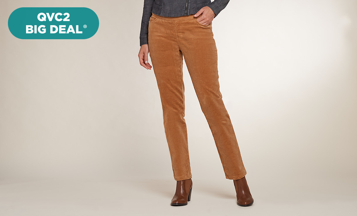 QVC2 Big Deal® — Denim & Co.® Pants