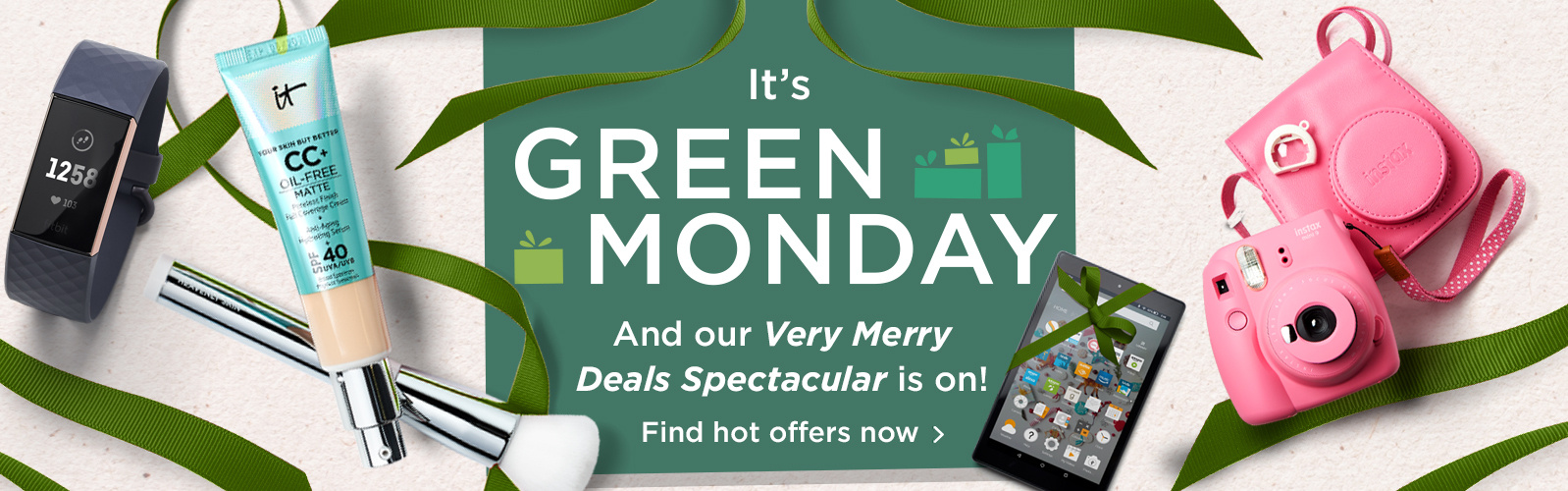 It's Green Monday — And our Very Merry Deals Spectacular is on! Find hot offers now