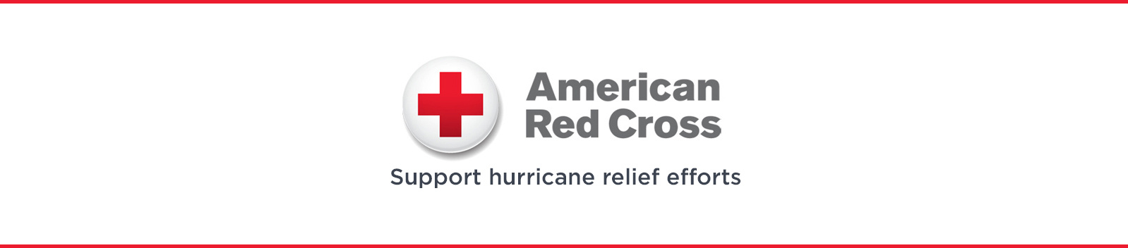 American Red Cross — Support hurricane relief efforts