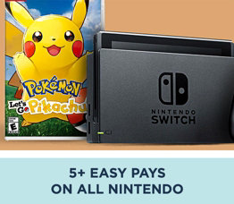 5+ Easy Pays on All Nintendo