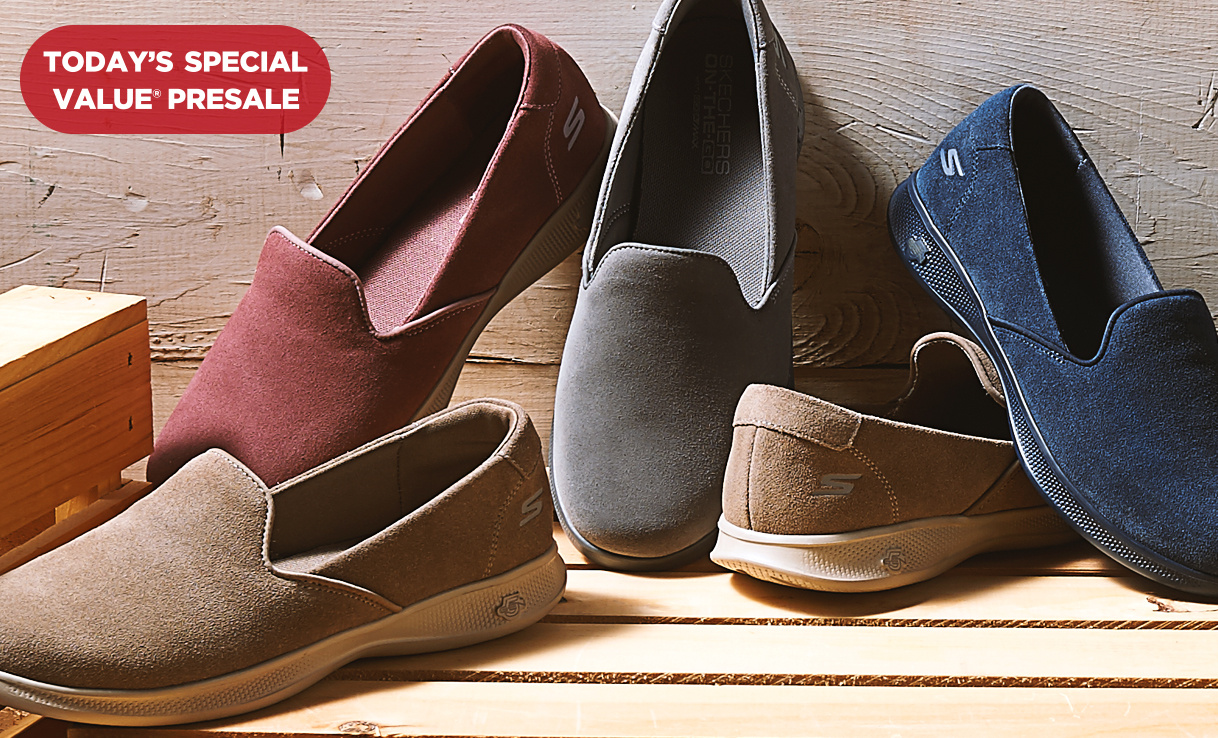 Today's Special Value® Presale — Skechers Suede Shoes