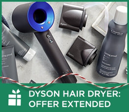 Dyson Hair Dryer: Offer Extended