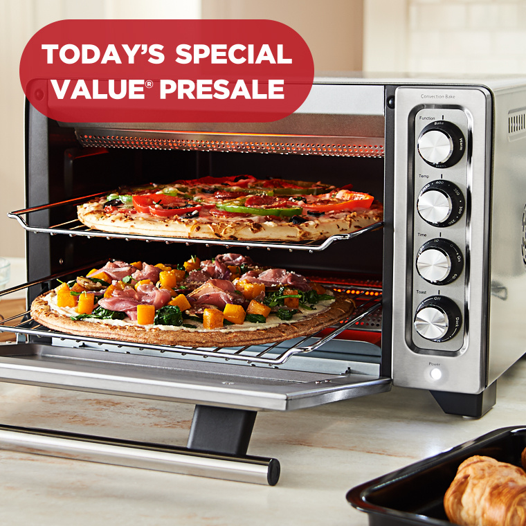 Today's Special Value® Presale — KitchenAid Countertop Oven