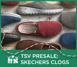TSV Presale: Skechers Clogs