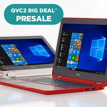 QVC2 Big Deal™ Presale — Dell™ 2-in-1 Laptop