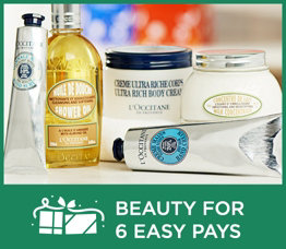 Beauty for 6 Easy Pays